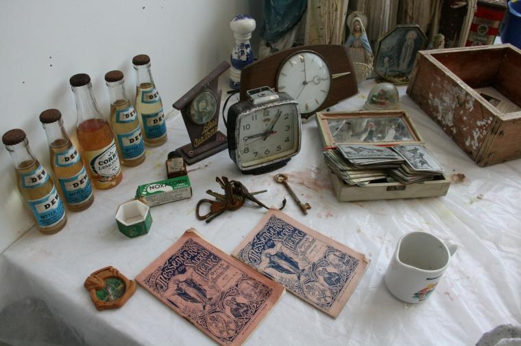 Objects in studio