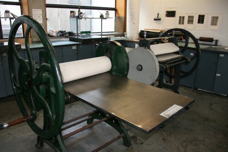 Printing presses at BCPS