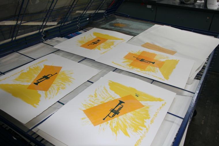 Screen printing class 2