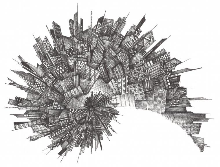 Alex Evans City Spiral